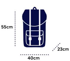 airbus διαστάσεις βαλίτσας