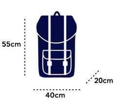 ATR διαστάσεις βαλίτσας