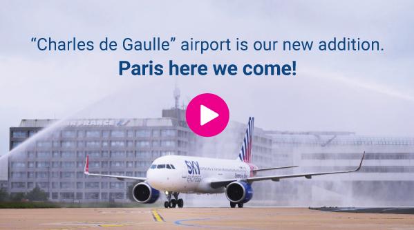 Our new destination: PARIS!