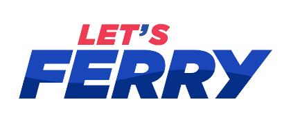 lets ferry logo