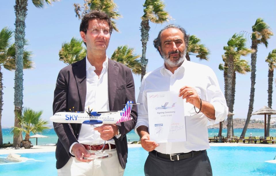 Landmark Deal For Six ATR 72-600 Series Aircraft In 2021