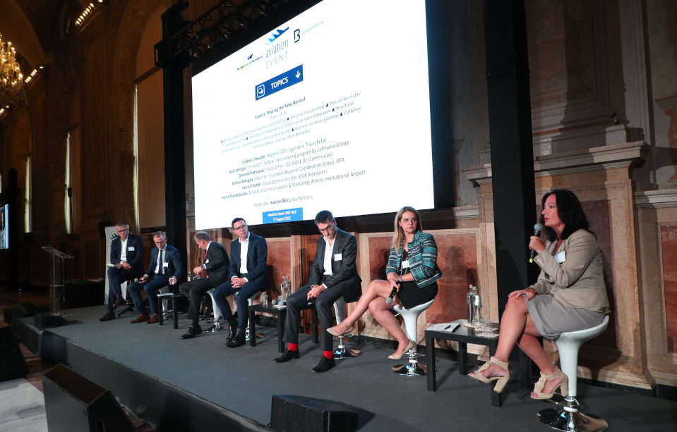 SKY express at the heart of Aviation Event 2021 on the prospects of recovery of aviation