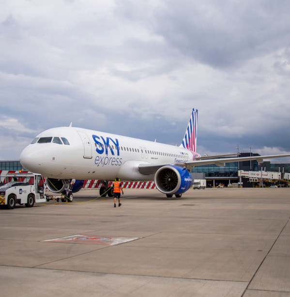 Heathrow calling… SKY express! Direct flights to London have started!